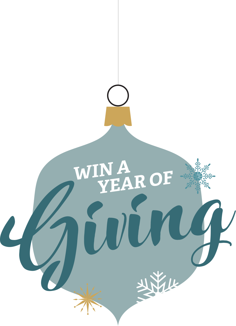 Win a year of giving